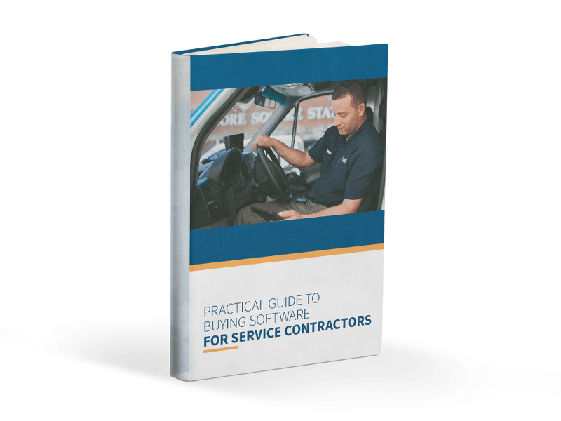 The Practical Guide to Buying Software for Service Contractors Cover